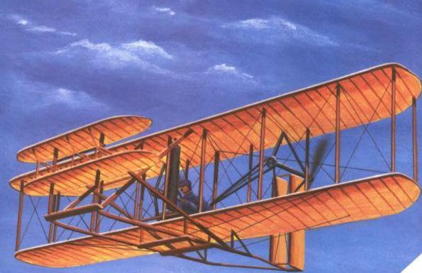 Самолеты — первые полеты