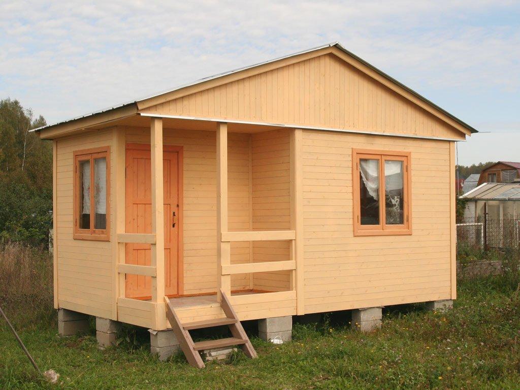 Построить маленький садовый домик своими руками недорого