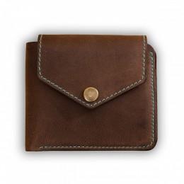 Портмоне 4.2 (4 кармана, кнопка) Орех-тиффани